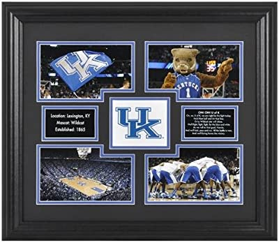 Kentucky Wildcats 4-Photograph Framed Collage - Fanatics Authentic Certified - College Team Plaques and Collages