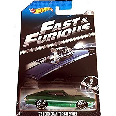Hot Wheels Fast & Furious Limited Edition - '72 Ford Gran Torino Sport 1972 Grand [5/8]: Toys & Games