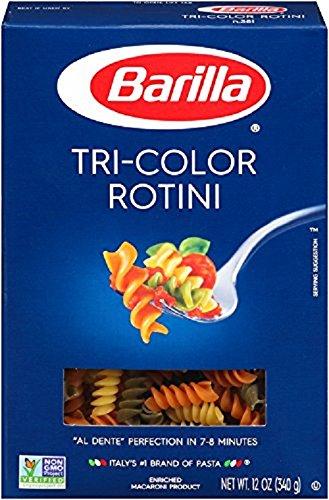 Barilla Tri-Color Rotini (6 pack )