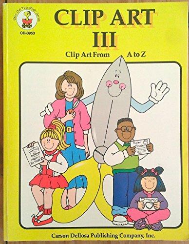 Clip Art III Clip Art From A-Z -