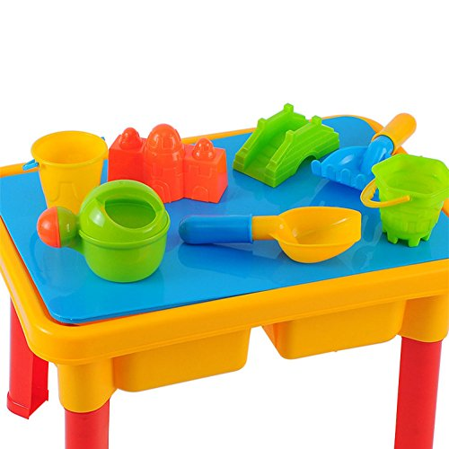 Lanlan 11pcs Kids Beach Toy Set Portable ABS Sand Table Combination Puzzle (Pebbles Costume For 1 Year Old)