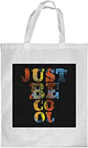 Printed Shopping bag, Small Size, just be cool