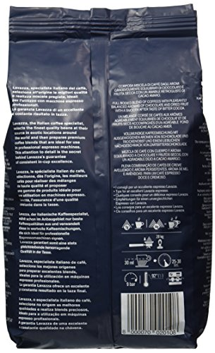 Lavazza Top Class Espresso Whole Bean Coffee, 2.2-Pound Bag