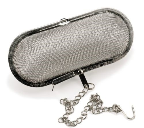 Jumbo Mesh Infuser Stainless Steel Herbs Spices Tea Soup Stew Cider