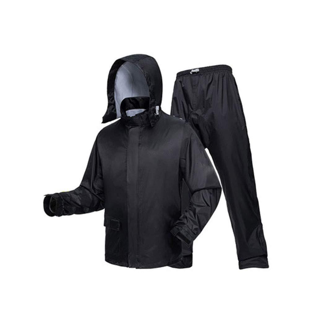 Couleur Crystal noir petit DQMSB Pantalon imperméable imperméable imperméable à l'eau de Pluie imperméable à l'eau de Pluie (Couleur   Vert Fluorescent, Taille   S)