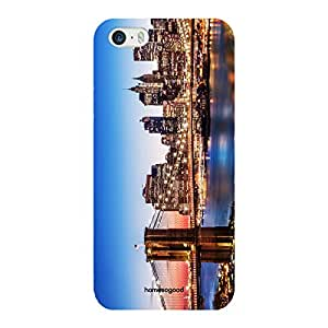 HomeSoGood The Manhattan Classic Multicolor 3D Mobile Case For iPhone 5 / 5S (Back Cover)