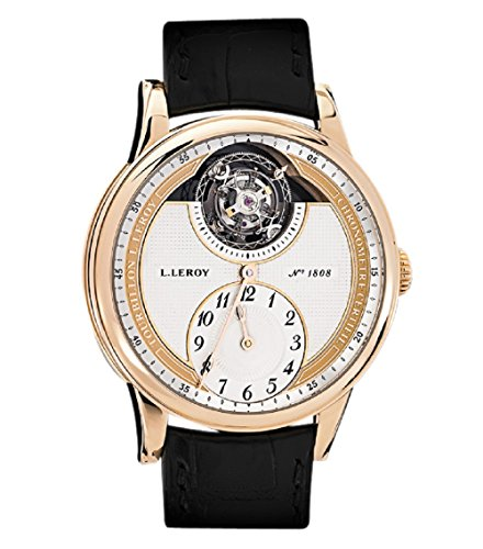 L. Leroy 18K RG Tourbillon Automatic Regulator Chronometer LL106-1