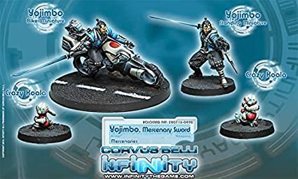 Amazon.com: Corvus Belli Mercenaries Yojimbo Mercenary Sword ...