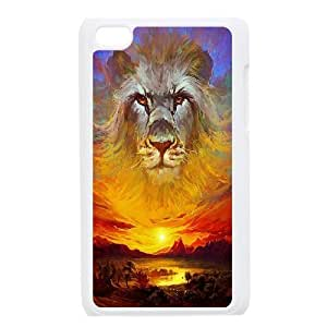 -ChenDong PHONE CASE- FOR IPod Touch 4th -Lions & Beast-UNIQUE-DESIGH 8