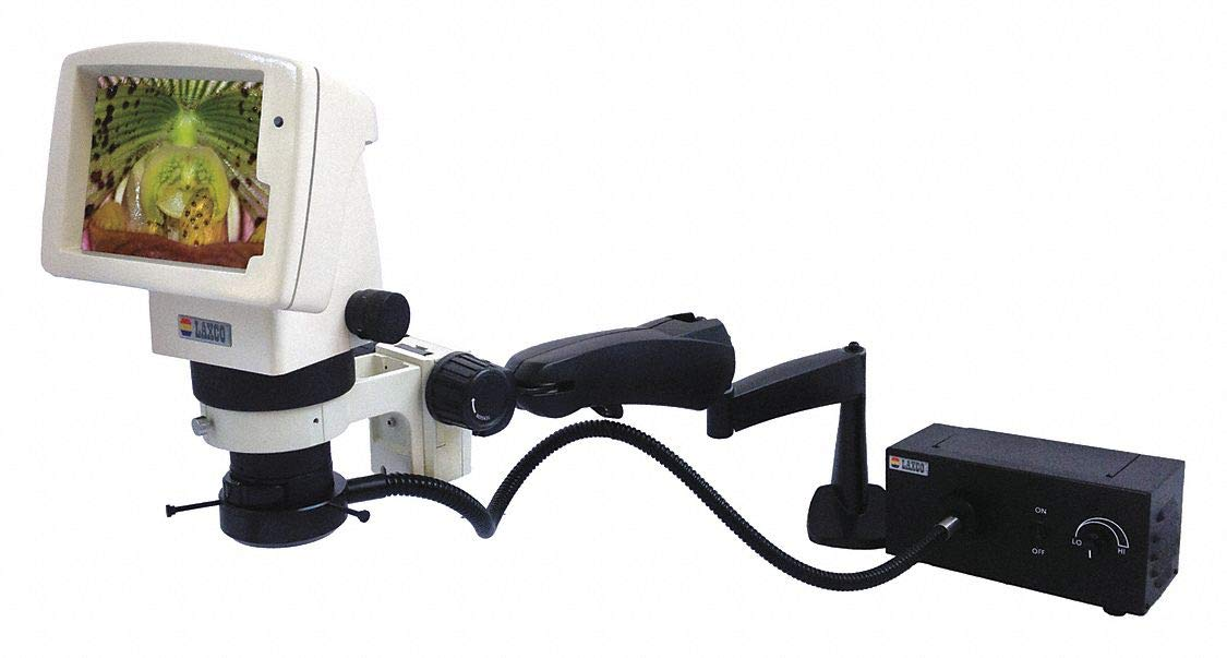 Stereo Zoom Microscope 3.2X to 100X Mag