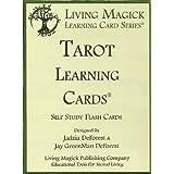Tarot Learning Cards - Living Magick (Self Study Flash Cards)