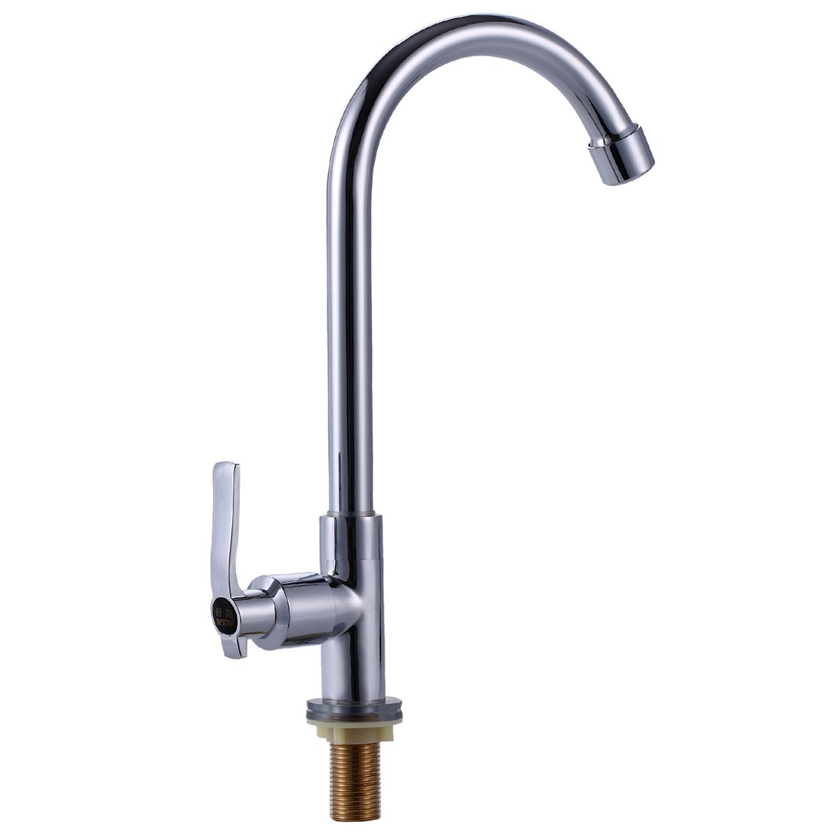 Easy Install Kitchen Faucet Deck Mount Full Copper