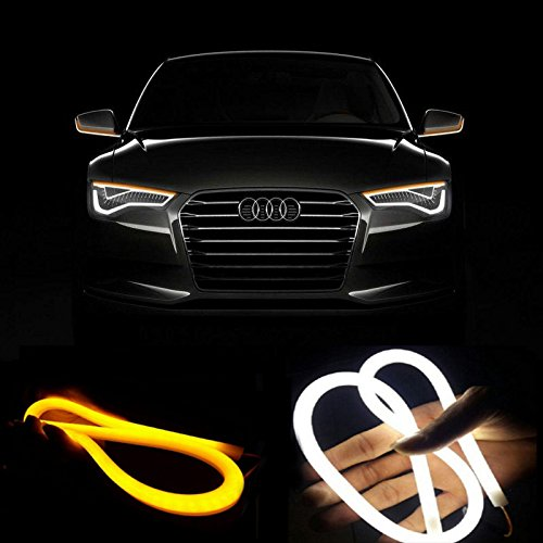 2pcs-60cm-switchback-headlight-flexible-tube-led-strip-drl-daytime-light-for-audi-style-tube