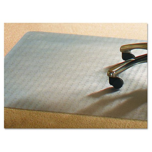 Mammoth Office Products V4660RMP PVC Chair Mat for Medium Pile Carpet, 46 x 60, No Lip, Clear by Mammoth Office Products