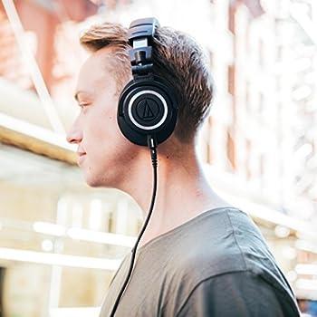 Audio-technica Ath-m50x Professional Studio Monitor Headphones, Black 14