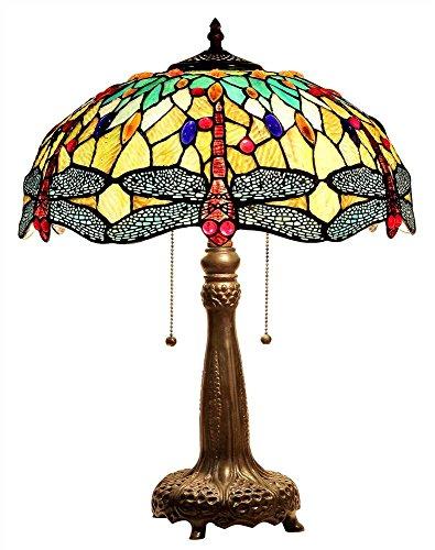 Empress 2-Light Table Lamp in Dark Bronze Finish