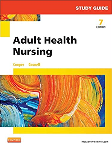 Book Study Guide for Adult Health Nursing, 7e