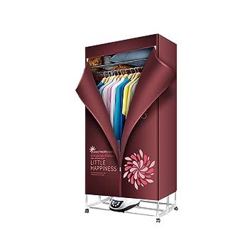 FORWIN UK- Secador estéreo Plegable, Secador de Secado rápido para el hogar Baby Mute, Secador rápido de Gran Capacidad (Rojo): Amazon.es: Hogar