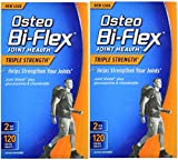 Osteo Bi-Flex Triple Strength, 120 Coated Tablets (Pack of 2) For Sale