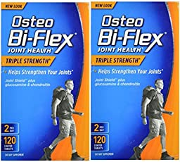 Osteo Bi-Flex Triple Strength, 120 Coated Tablets (Pack of 2)