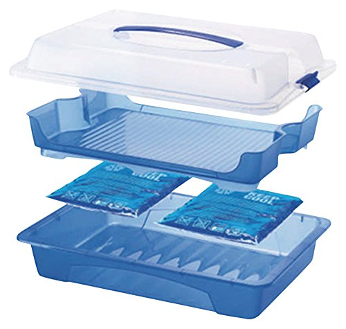 - Rotho, Germany Our Large Food Server and Carrier Keeps Food Cool for Picnics and Parties and EZ Transport