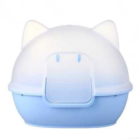 Teng Peng Inodoro para Mascotas - Artículos para Limpieza de Mascotas Inodoro para Gatos Pie de