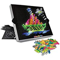 Deals on Basic Fun Lite-Brite Ultimate Classic Retro Toy w/6 Templates