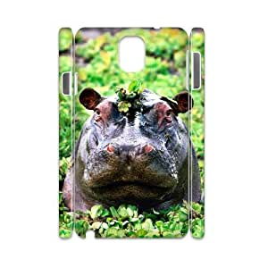 HOPPYS Diy case Hippo customized Hard Plastic case For samsung galaxy note 3 N9000
