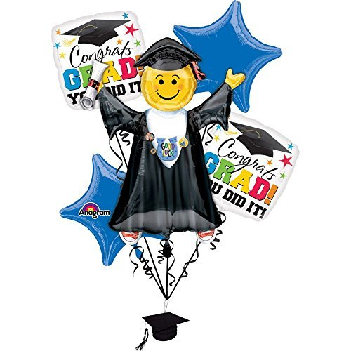 - Anagram Grad You Did It Party Supplies Balloon Bouquet