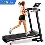 Aprox Folding Electric Treadmill, Incline Motorized Running Machine for Home Gym Exercise (2.5HP)