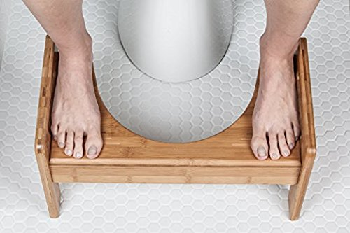 Squatty Potty The Original Adjustable Height Bathroom Toilet Stool- Tao Bamboo by Squatty Potty (Image #5)