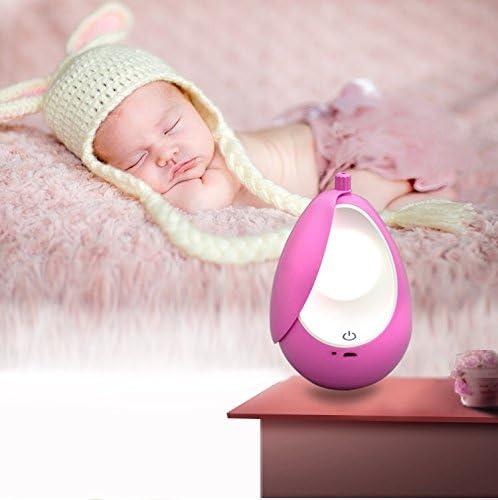 Kleinkinderlicht Nachtlicht Baby light Schlafzimmer Nachtbeleuchtung Schlaflicht Pink,Warmweiss