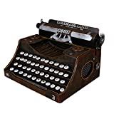 GL&G Retro typewriter model Home Décor Accents Tabletop Scenes Collectible Photography props bar Ornaments High-end gifts Keepsakes,251814cm