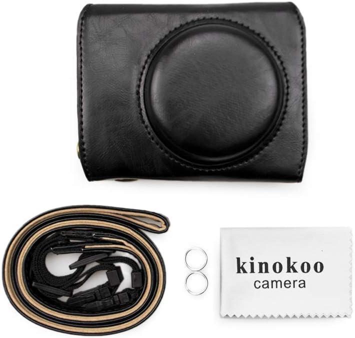 Kinokoo Camera Case For Canon Powershot G7x Mark Iii Pu Camera Photo