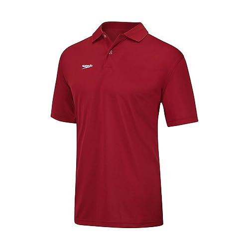 99b58c7a12b ... spain speedo 7550181 mens male team polo shirt speedo reds de443 f8649