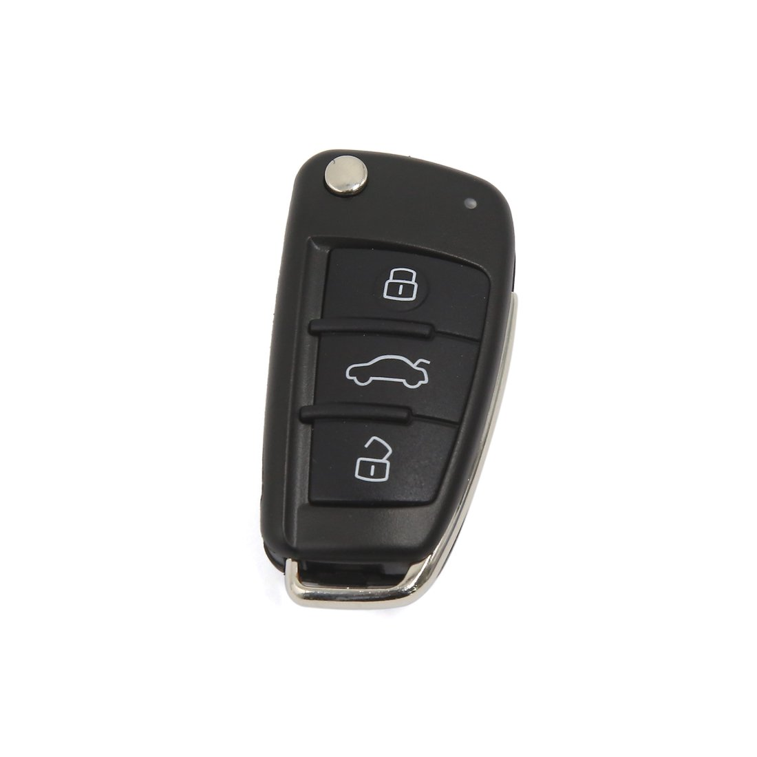 uxcell 3 Buttons Replacement Remote Flip Key Fob Case Shell for Audi A3 A4 A6 Q7 TT