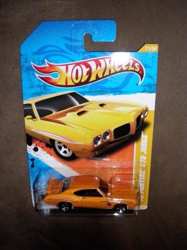 2011 Hot Wheels New Models 11 244 Yellow   Orange 70 Pontiac Gto Judge 11 50