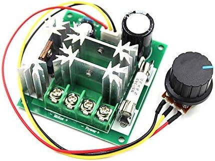 ZhaoXin Chen 15A / 6〜90V PWM DCモータースピードコントローラー高効率スピードコントローラスピードコントロールスイッチ