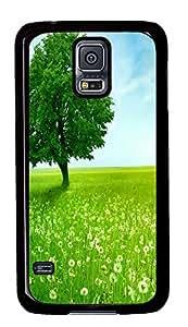 custom Samsung S5 covers Green 02 PC Black Custom Samsung Galaxy S5 Case Cover