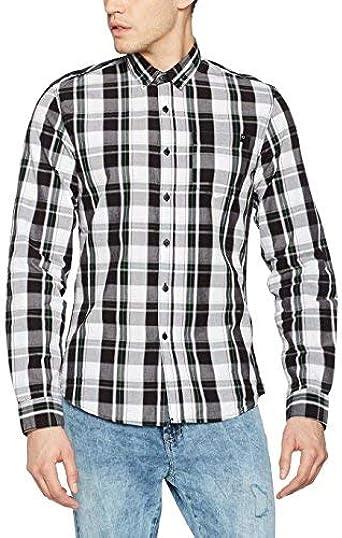 Tiffosi Cubs Camisa, Negro (Black), L para Hombre: Amazon.es: Ropa y accesorios