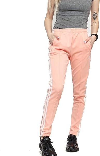 adidas Originals Women's Superstar Track Pants, dust pink, X
