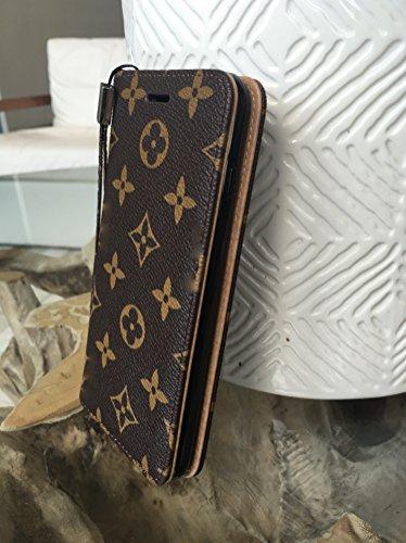 louis vuitton iphone 8 case. for apple iphone 6 4.7 flip wallet case a-lv (iphone - flip) louis vuitton iphone 8 c
