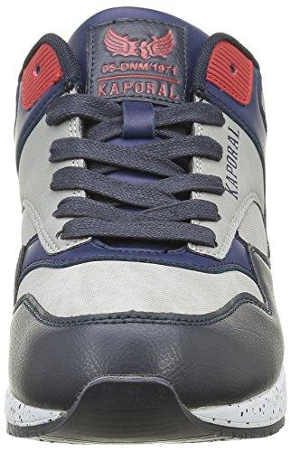 Bleu Gris Kaporal Homme marine Basses Baskets Knyt YUxqI4a