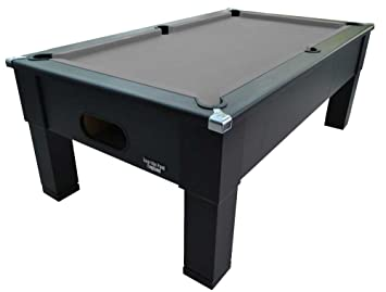 7ft Matt Black Pool Table   Square Leg   Slate Bed   FREE UK DELIVERY U0026