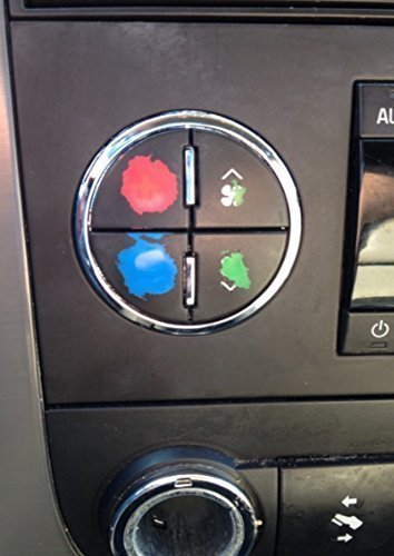 AC Button Repair Kit For Chevy Tahoe, Suburban, Avalanche ...