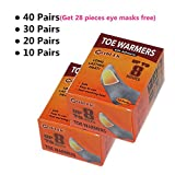#9: Toe Foot Warmers Disposable with Adhesive Back, Air Activated Heating Patch Long Last for 8 Hours