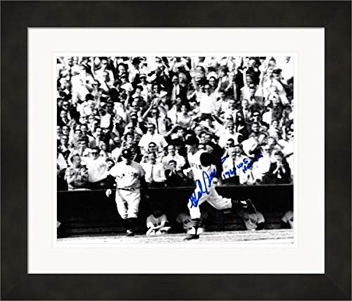 Hal Smith autographed 8x10 photo framed (Pittsburgh Pirates 1960 World Series game 7 tying home run) Image #3 inscribed