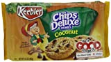 Keebler Coconut Chips Deluxe Cookies, 14.2-Ounce (Pack of 4)