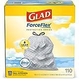 Glad ForceFlex Tall Kitchen Drawstring Trash Bags