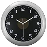 Equity by La Crosse 65905 Hybrid Solar 12-Inch Analog Wall Clock